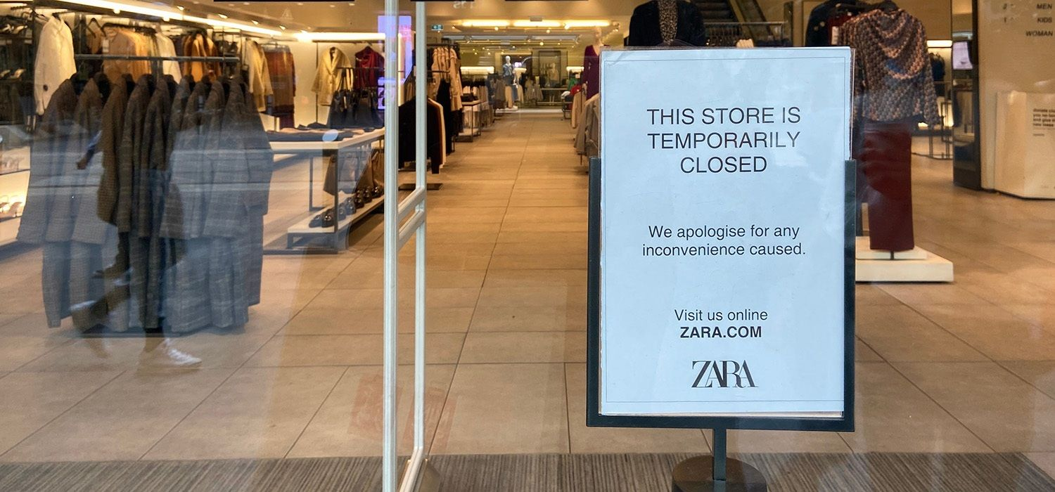 SGS Economics and Planning closed retail due to COVID 19