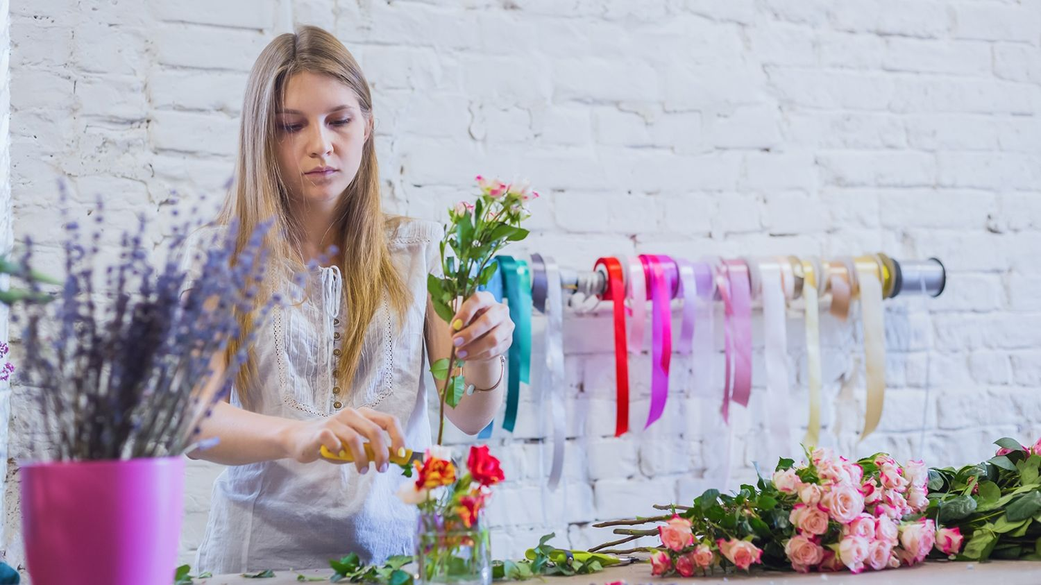 SGS Economics and Planning pop up retail florist