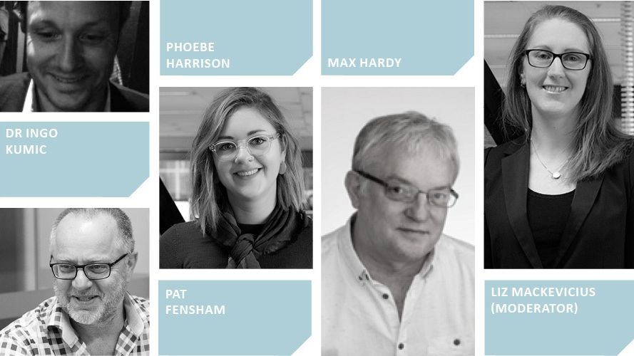 SGS Panellists Shaping Vibrant Places Precincts event webpage