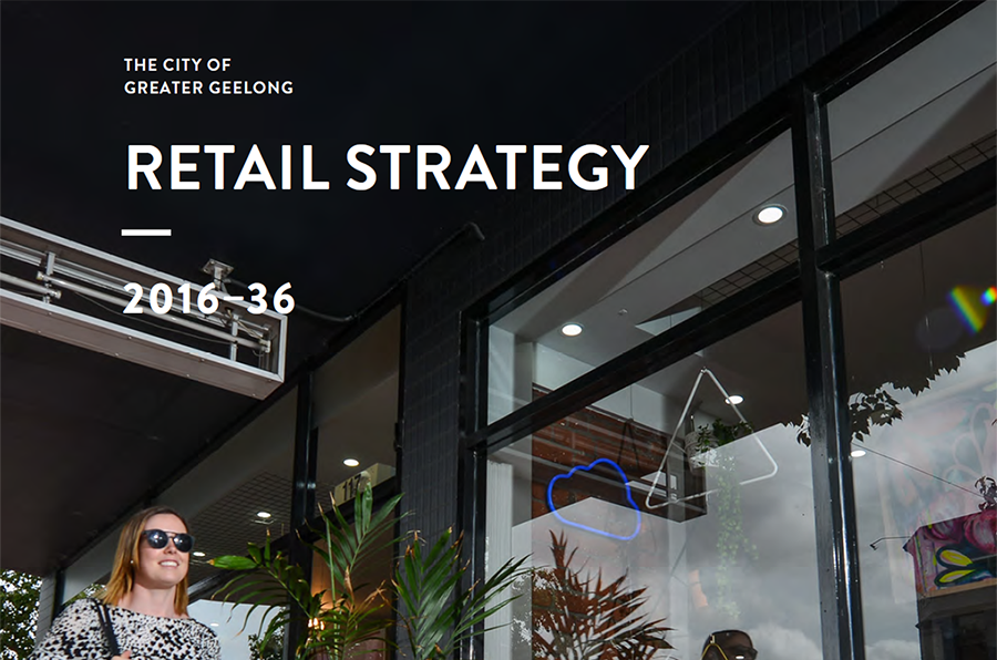 SGS Economics and Planning Greater Geelong Retail Image
