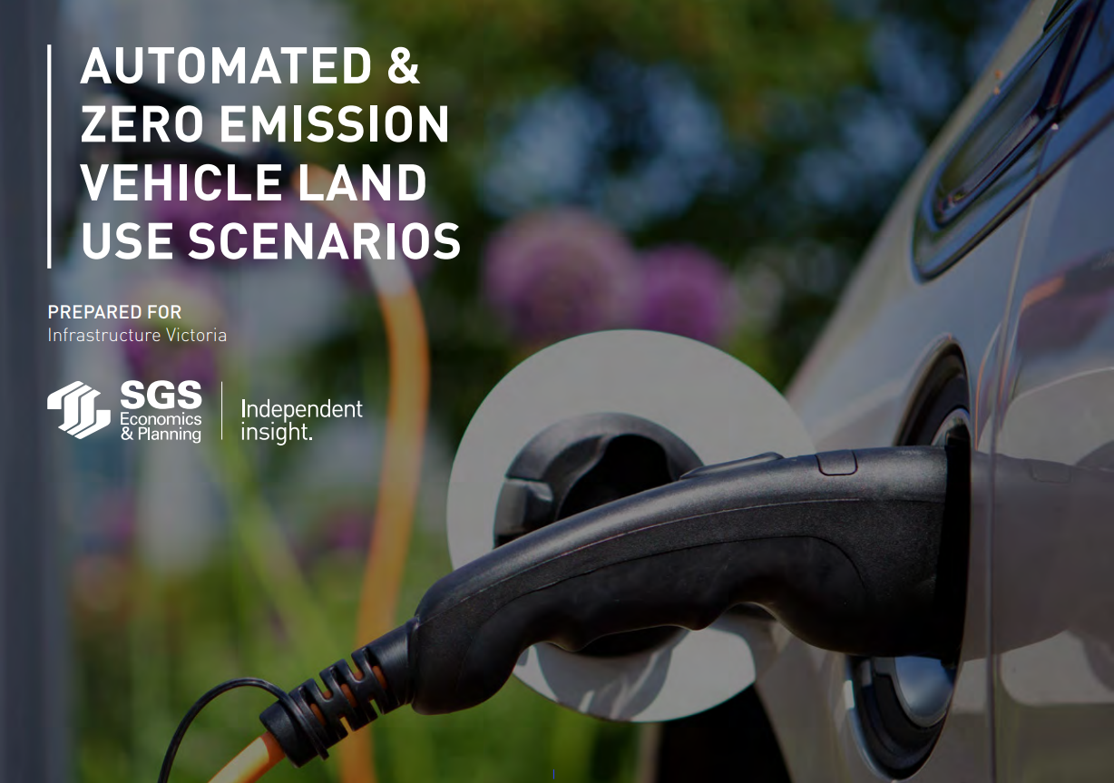 SGS Economics and Planning Zero Emission Vehicles Report