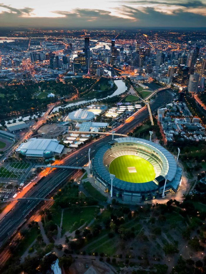 SGS Economics and Planning Melbourne Park